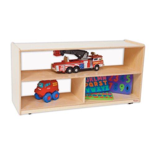 "Wood Designs Natural Environment 24"" Versatile Shelf Storage Unit"