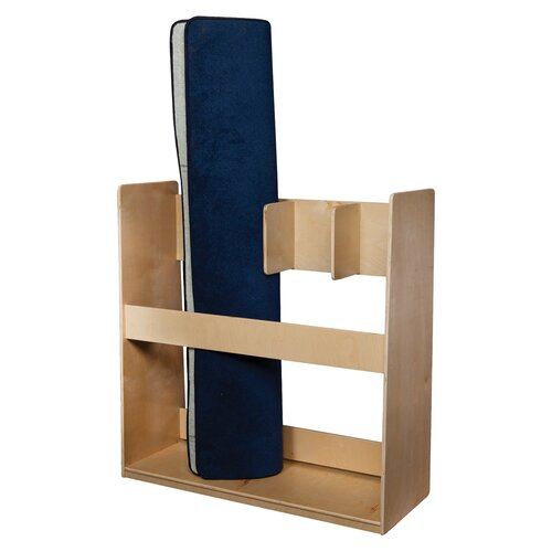Wood Designs Natural Environment 4 Section Rug Holder