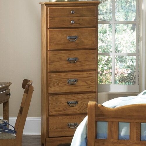Carolina Furniture Works, Inc. Creek Side 6 Drawer Lingerie Chest