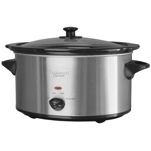 7-Quart Oval Slow Cooker