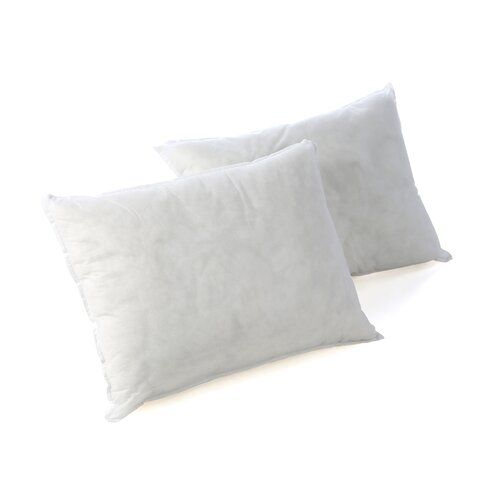 Bed Bug & Dust Mite Control Water Resistant Down Alternative Polypropylene Bed Pillow, 2 Pack ...