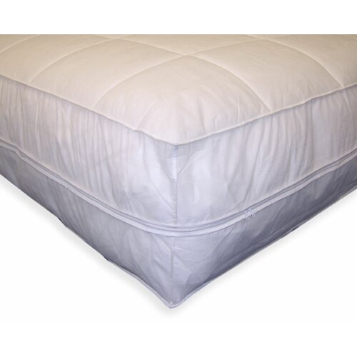 Permafresh Bed Bug & Dust Mite Control Water Resistant Polypropylene All-In-One Mattress Pad & Protector