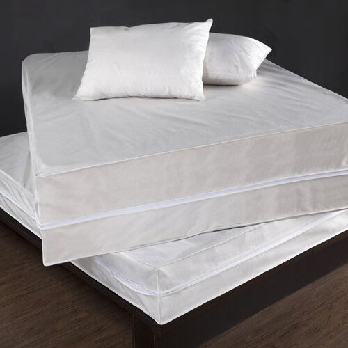 Permafresh Bed Bug & Dust Mite Control Water Resistant Polypropylene Complete Bed Protector Set