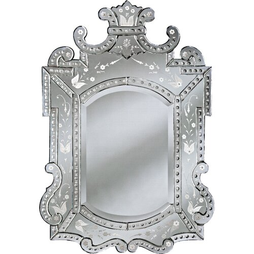 Venetian Gems  Royale Small Venetian Wall Mirror