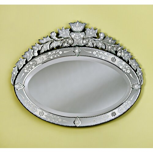 Venetian Gems Lea Medium Venetian Mirror
