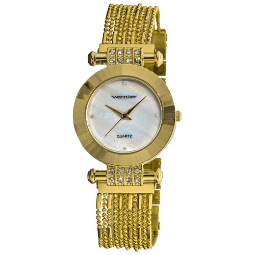 Women's Elegant Multi Chain Bracelet Watch