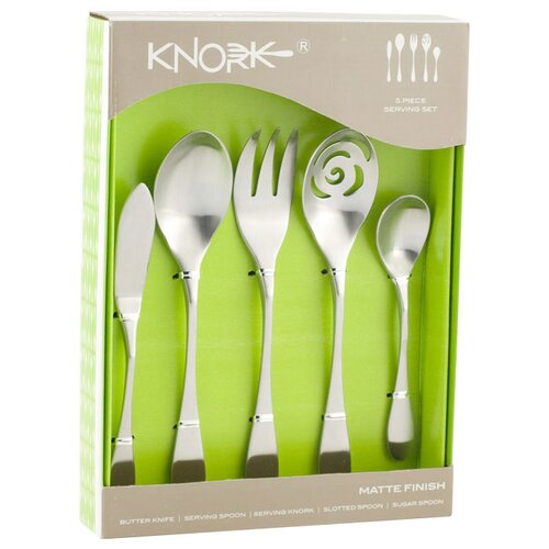 Knork 5 Piece Serving Set