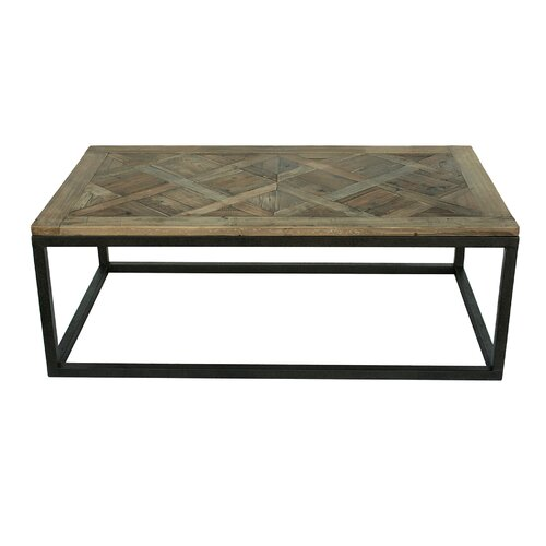 White x White Halle Coffee Table