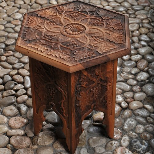 Peshkun Grape Vine Stool