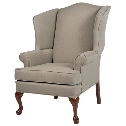 Comfort pointe erin wing back chair reviews wayfair for Comfortable wingback chair