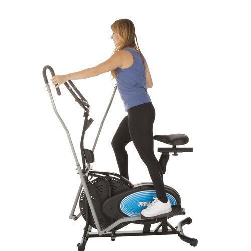 Progear 400ls 2 In 1 Air Elliptical And Exercise Bike With