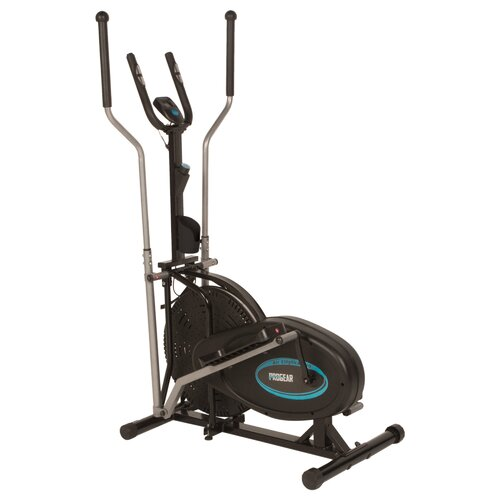 300LS Air Elliptical Upright Bike with Heart Pulse Sensors