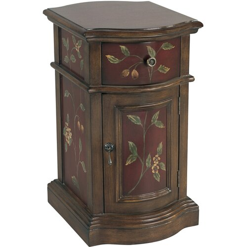 Coast to Coast Imports LLC 1 Drawer 1 Door Cabinet