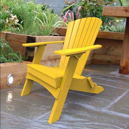 Malibu Outdoor Living Hyannis Folding Adirondack Chair