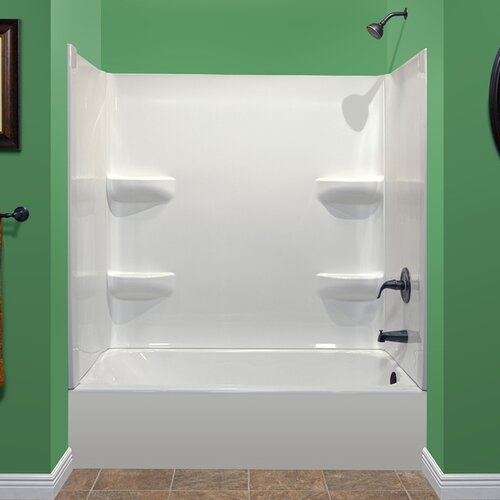 Lyons Industries Deluxe 75 X 54 Soaking Bathtub Reviews W