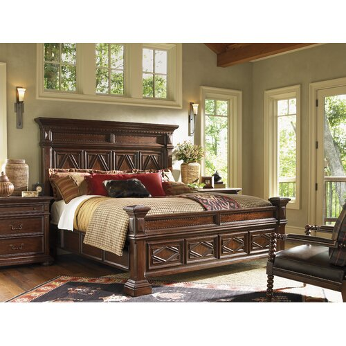 Lexington Fieldale Lodge Pine Lakes Panel Bed