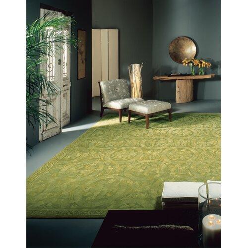Asmara, Inc. Ravenna Savonile Como Green Rug