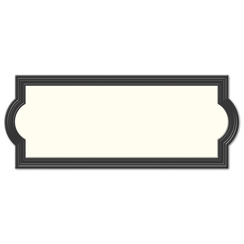 Hy-Ko Reversible Address Plaque