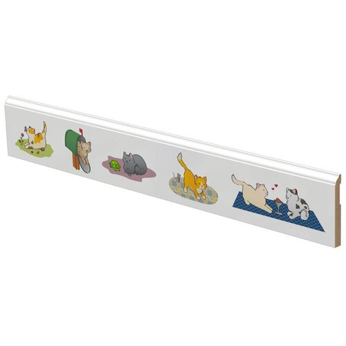 LilyTrim Playful Kittens Wall Border