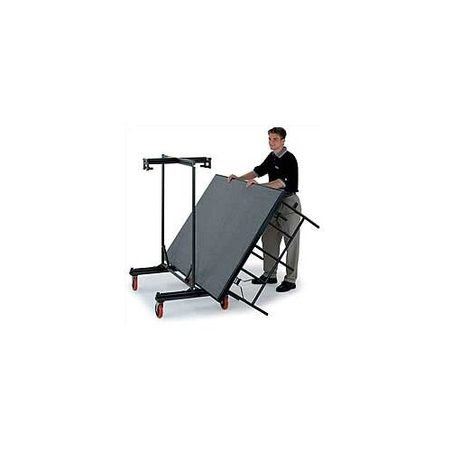 Midwest Folding Products 4' x 8' Portable Stage with Carpeted Deck
