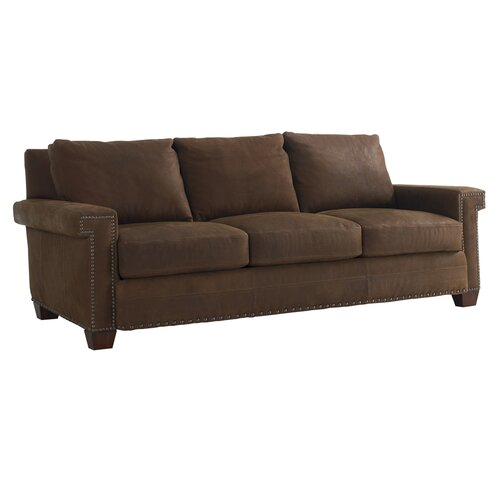 Road to Canberra Torres Leather Sofa