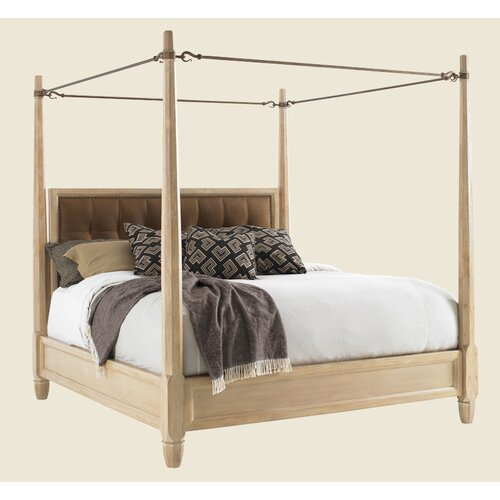Tommy Bahama Home Road to Canberra Queensland Poster Canopy Bed