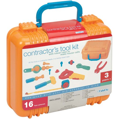 Battat Contractor's Tool Kit Toy