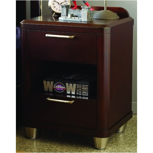 Opus Designs Aura 2 Drawer Nightstand