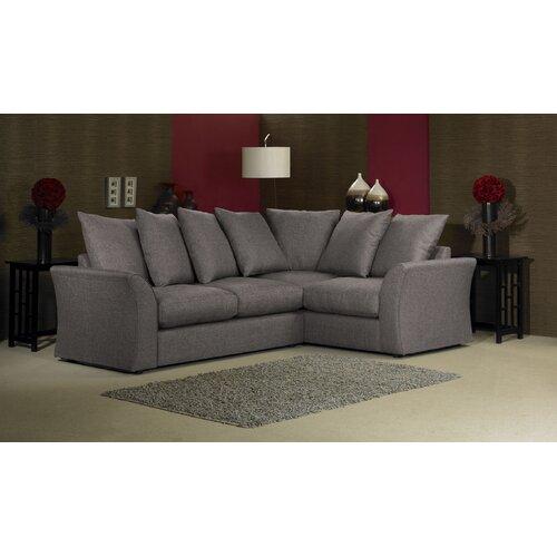 Cary 3 Seater High Back Sofa Wayfair Uk