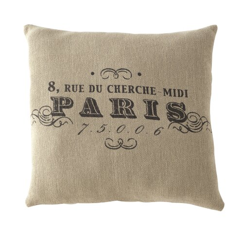 Shiraleah Paris Square Pillow