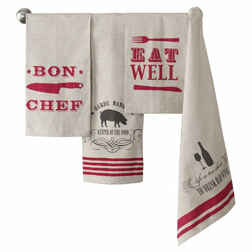 Shiraleah Entertaining Inspired Tea Towels