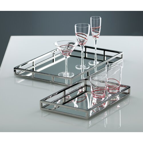 Shiraleah Small Rectangular Serving Tray