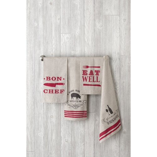 Entertaining Inspired Tea Towels (Set of 4)