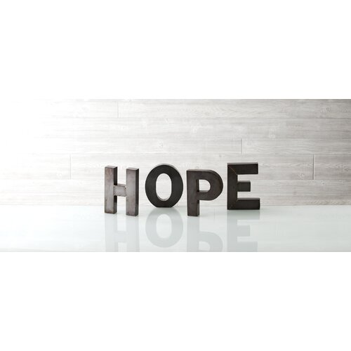 "Shiraleah Holiday Decor ""Hope"" Display Letter Block"