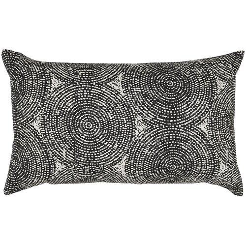Swirl Print Pillow