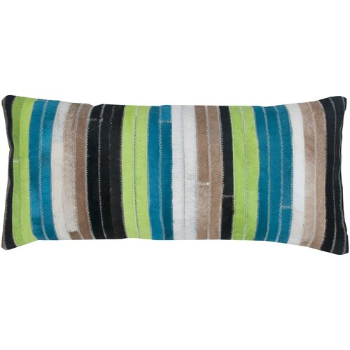 India's Heritage Patchwork Leather Pillow