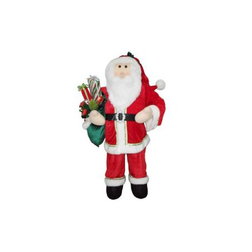 Traditional Santa Christmas Decoration