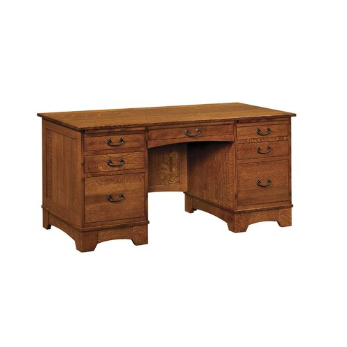 Mission Style Oak Desk Wayfair