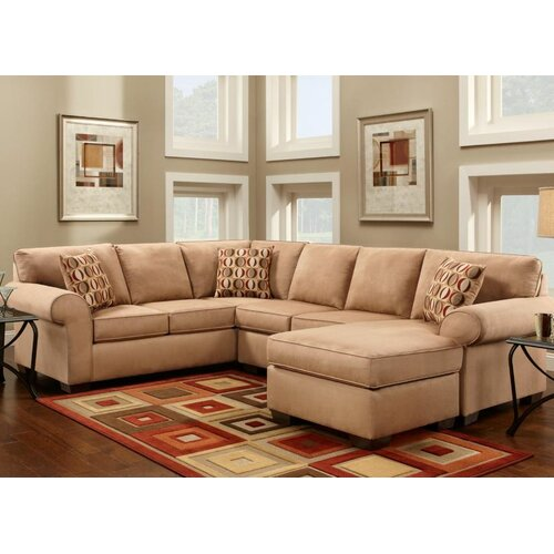 Chelsea Home Allegany Full Sleeper Sectional