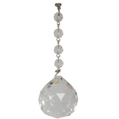 Light Charms Faceted Crystal Decorative Balls
