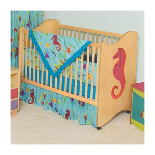 Room Magic Tropical Seas 2-in-1 Convertible Crib Set