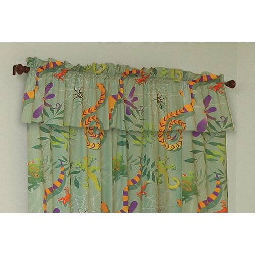 "Room Magic Little Lizards 57"" Curtain Valance"
