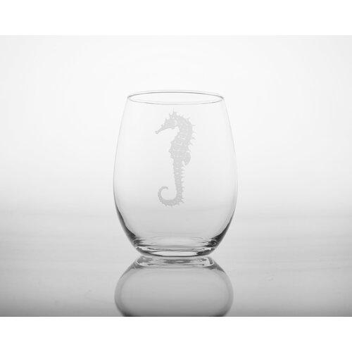 Seahorse White Wine Tumbler (Set of 4)