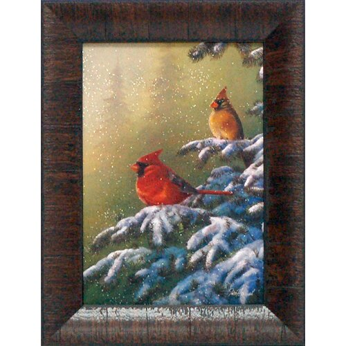 Winter Refuge Framed Painting Print