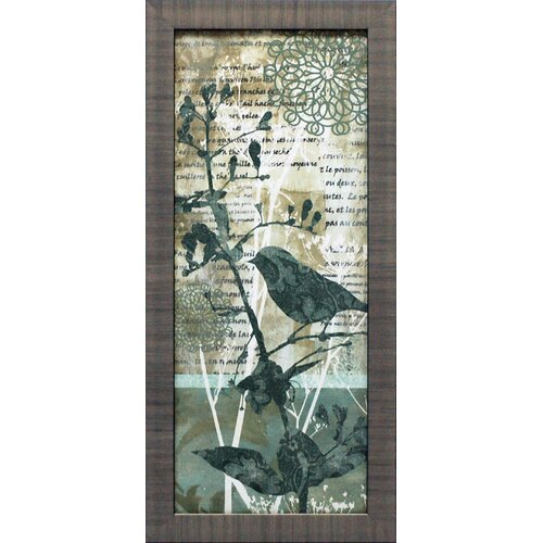 Winter Birds II Framed Graphic Art