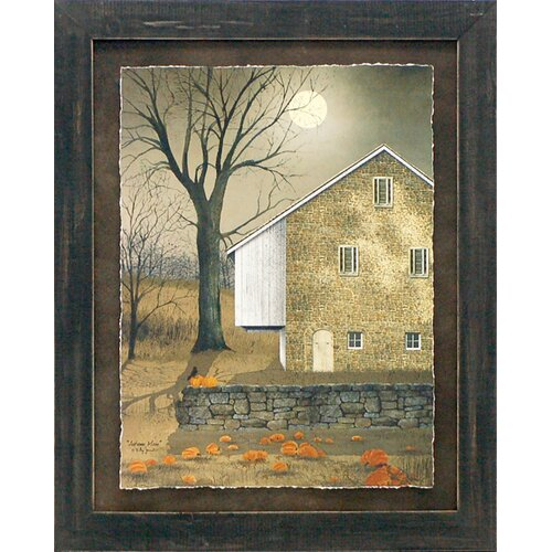 Autumn Moon Framed Painting Print