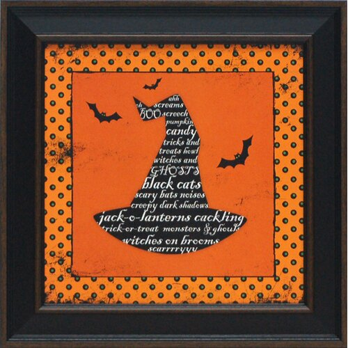 Artistic Reflections Witch's Hat Framed Graphic Art
