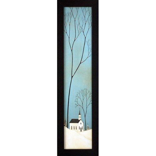 Winter Panel Framed Painting Print
