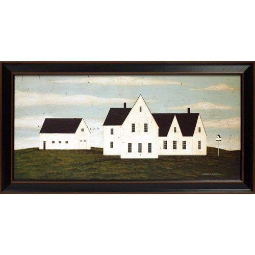 The White House Framed Painting Print