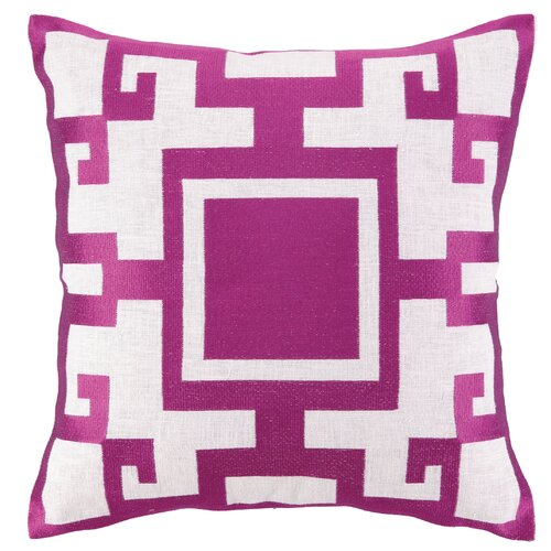 Sis Boom by Jennifer Paganelli Kara Linen Embroidered Pillow
